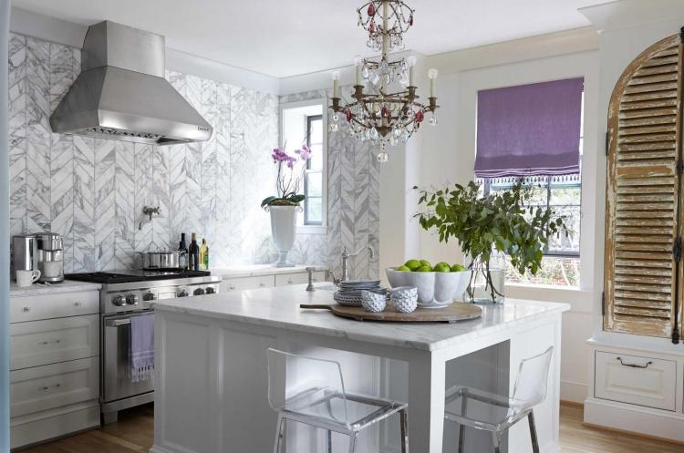 Bescheiden On Andere Auf Küche Wandgestaltung 25 Ideen Mit Farbe Tapete Und Mehr 2
