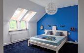 Blau Für Dachschrage