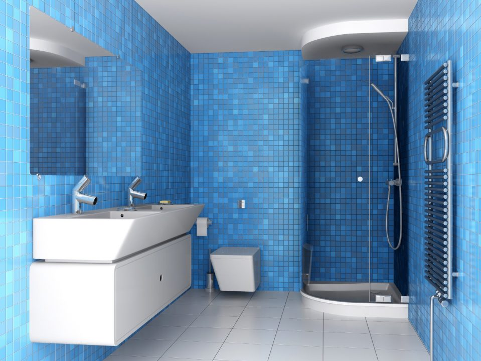 Blaue Badfliesen Dekoration Glänzend On Andere Beabsichtigt Uncategorized Tolles Ebenfalls Die 2