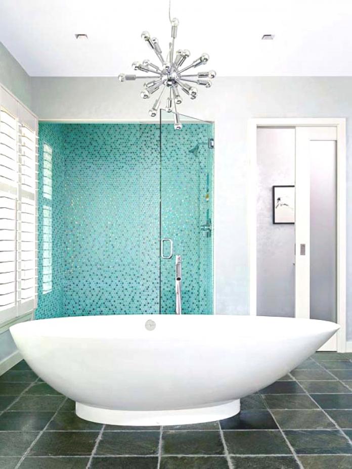 Blaue Badfliesen Dekoration Stilvoll On Andere Innerhalb Kühles Wohnungideen Badezimmer Dekorieren Blau 8