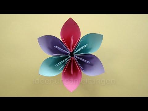 Blumen Basteln Unglaublich On Andere Auf Mit Papier Kindern Einfache Origami 7
