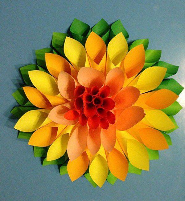 Blumen Falten Aus Papier Kreativ On Andere Mit Auf Diese Seite Erkennen Sie Wie Kann Man Sehr Schnelle Die 9