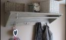 Coat Hooks With Storage Ausgezeichnet On Andere Innerhalb Chic Wall Shelves Pallet Ideas Pinterest 6