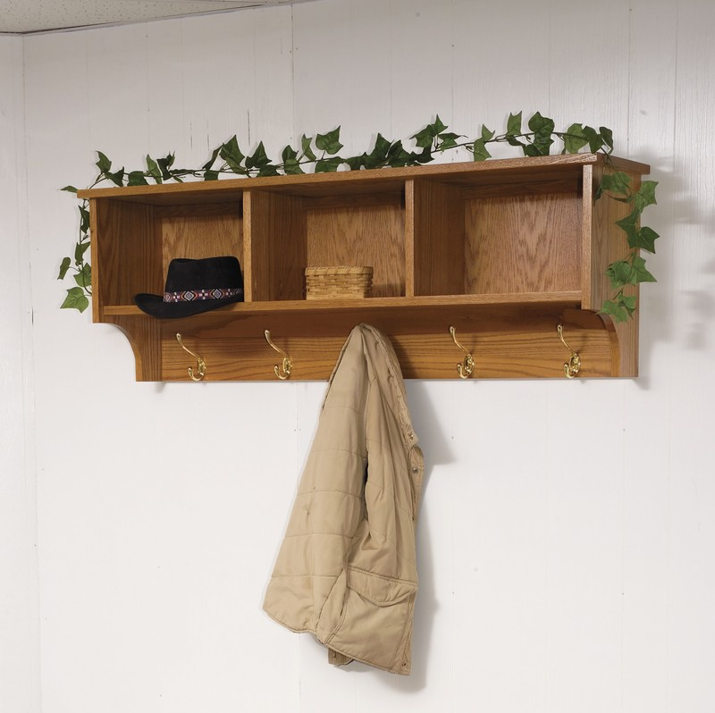 Coat Hooks With Storage Bemerkenswert On Andere Für Wall Shelf Traditional Hanging And 5