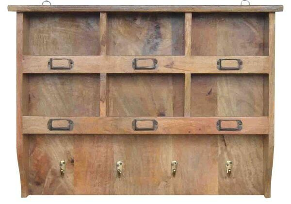 Coat Hooks With Storage Einfach On Andere Und Mango Wood Wall Rack And 7