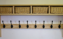 Coat Hooks With Storage Fein On Andere Mit Basket Shelves Shaker Peg Rails Country 3