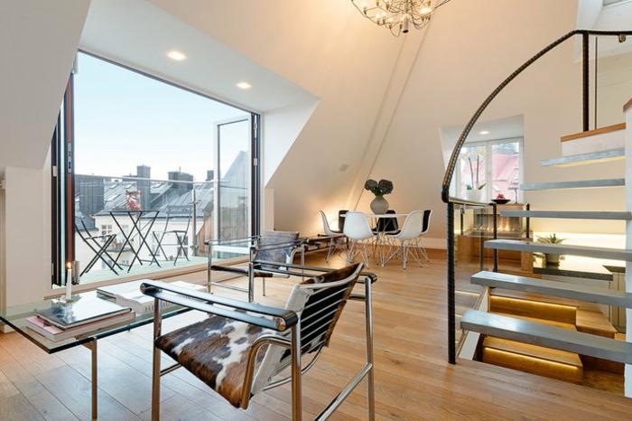 Dachwohnung Einrichten Bilder Bescheiden On Andere Innerhalb Wohnzimmer Einrichtung Ideen Raum Mit Dachschräge 3