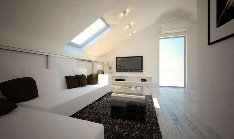 Dachwohnung Einrichten Bilder Charmant On Andere überall Ideen 1 Zimmer Wohnung Mit Gut Tipps 4