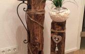 Deko Idee Holz