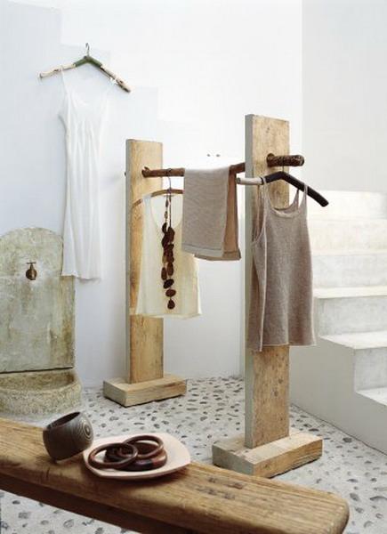 Deko Idee Holz Charmant On Andere In Bezug Auf Eine Geniale Art Die Kleidung Ordentlich Zu Verstauen Rustikal 4