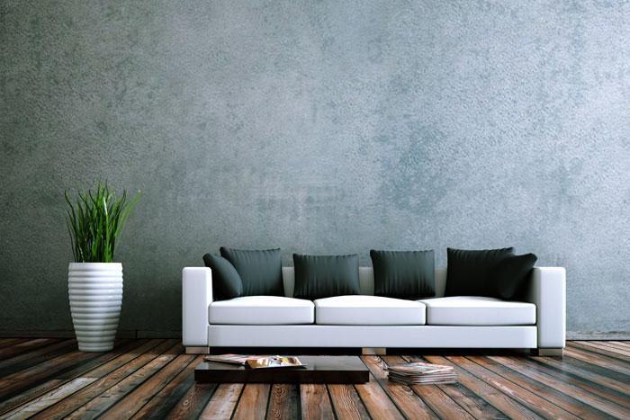 Dunkelgraue Wandfarbe Mit Muster Erstaunlich On Andere Fur Grau Graue Der Edle Trend An 2