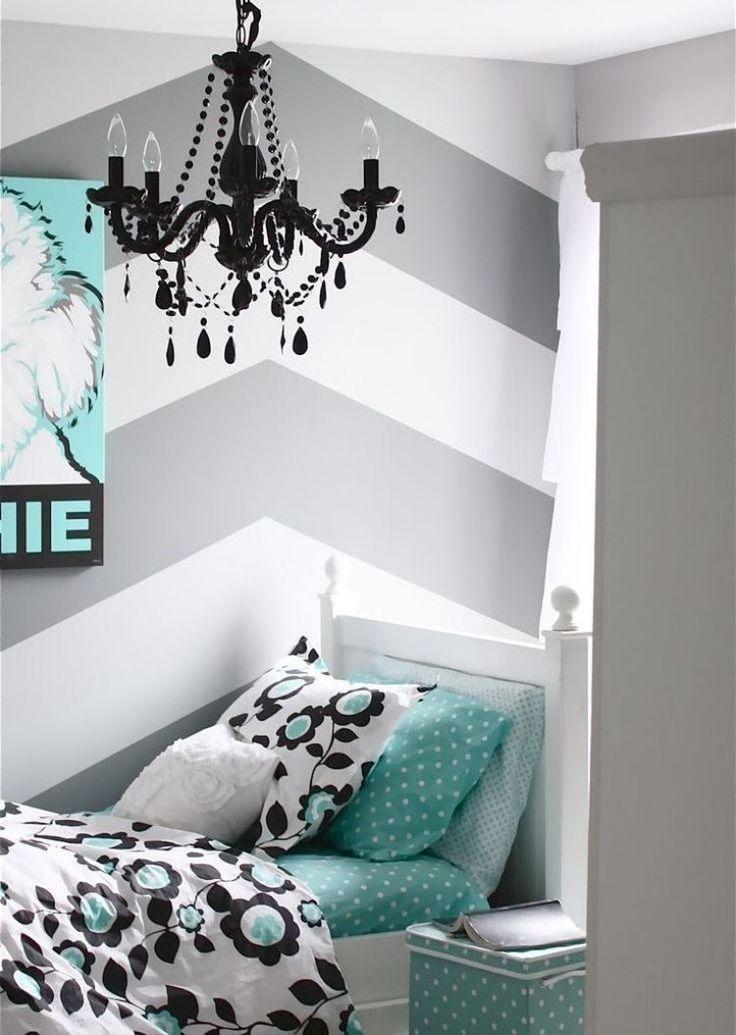 Dunkelgraue Wandfarbe Mit Muster Exquisit On Andere Und Wandfarben Ideen Modell Schlafzimmer Konzeption 5