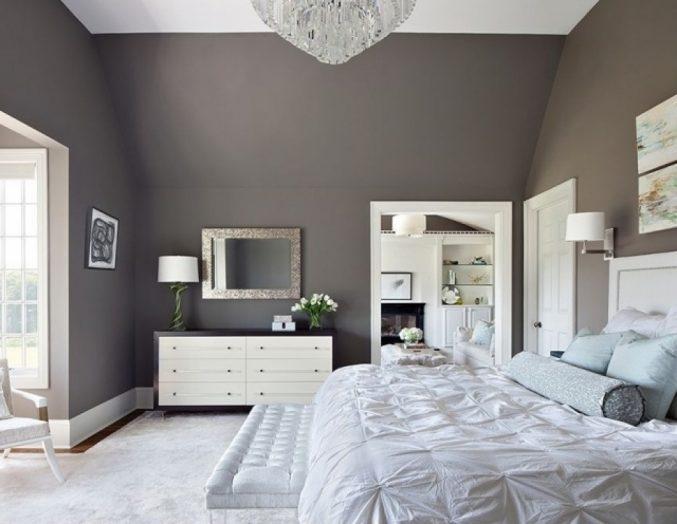 Dunkelgraue Wandfarbe Mit Muster Fein On Andere Für Fur Grau Kuhles Ebenfalls 6