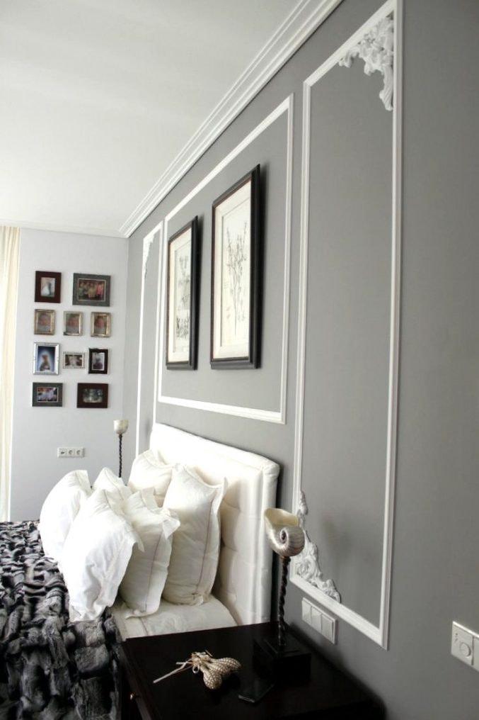 Dunkelgraue Wandfarbe Mit Muster Interessant On Andere Und Fur Grau Uncategorized Schönes 7