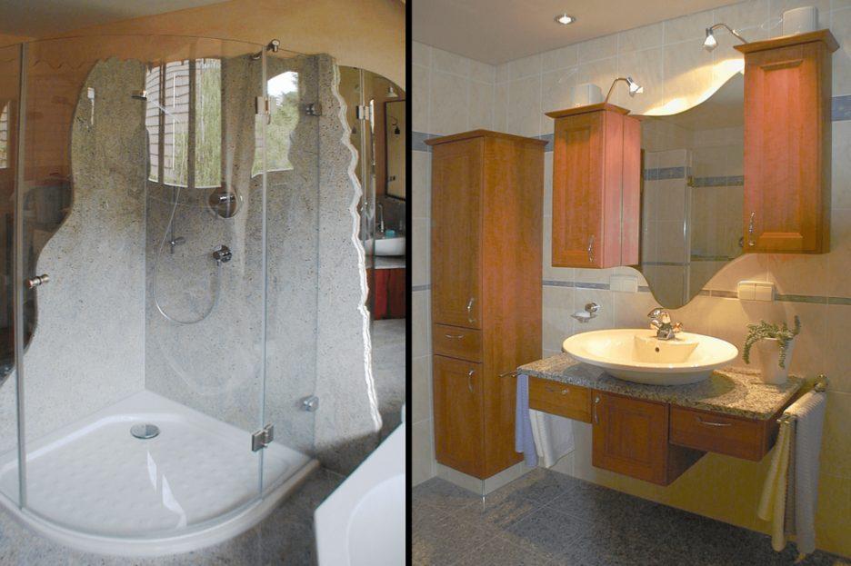 Dusche Stil Fein On Andere Auf Innenarchitektur Kleines Granit Luxus 8