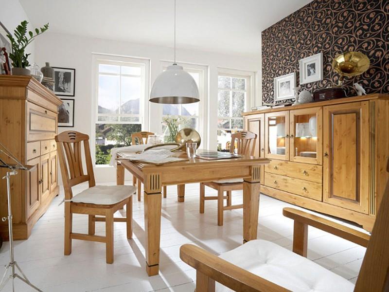 Esszimmer Landhausstil Modern On Andere Und Aus Massivem Holz Bei Casamia Bestellen Wohnen 5