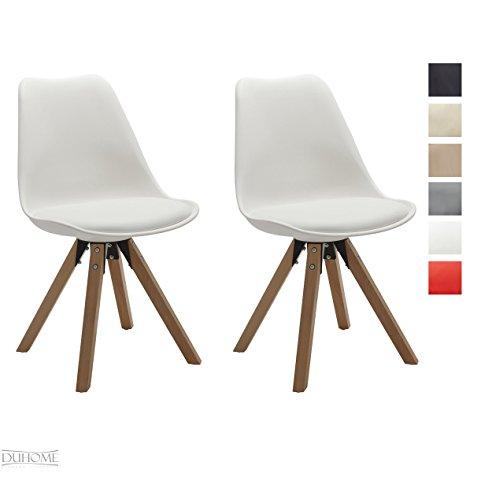 Esszimmerstühle Modern On Andere In Stuhl Küchenstühle 2 Er Set WEISS Küchenstuhl 3
