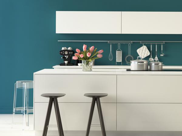 Farbe In Küche Bescheiden On Andere Mit Farben Der So Wird Die Bunt Tipps Von Wandtattoo De 5