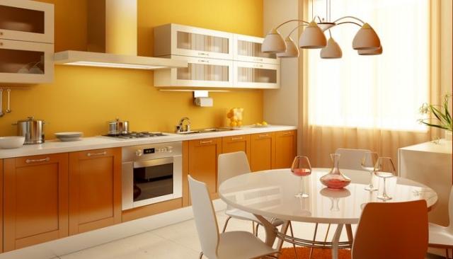 Farbe In Küche Schön On Andere Bezug Auf Welche Wandfarbe Für 55 Gute Ideen Und Beispiele 9