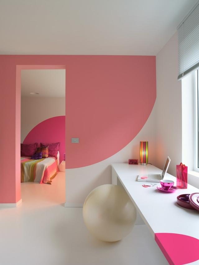 Farben Für Wände Streichen Exquisit On Andere In Pastellrosa Sorgt Romantik Ideen Im Heim 2
