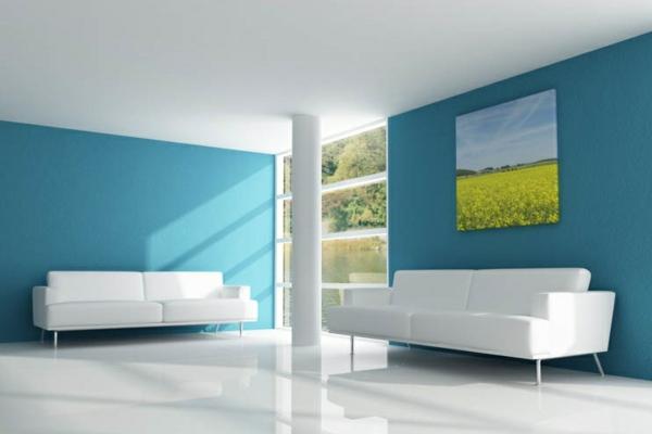 Farben Für Wände Streichen Exquisit On Andere Innerhalb Die Zu Hause Ideen Harmonische Farbkombination 6
