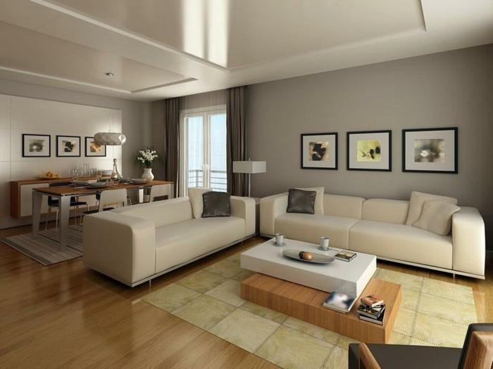 Farbgestaltung Bescheiden On Andere In Bezug Auf Wohnzimmer Wohndesign 3