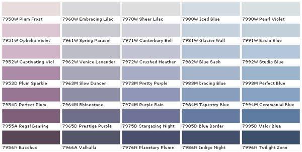 Farbpalette Blau Bescheiden On Andere Auf Entscape Com 7
