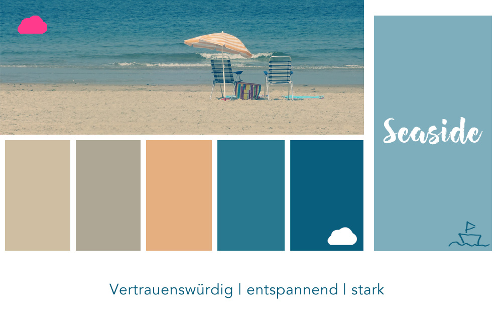 Farbpalette Blau Großartig On Andere Und Nr 1 Seaside Hallo Liebe Wolke