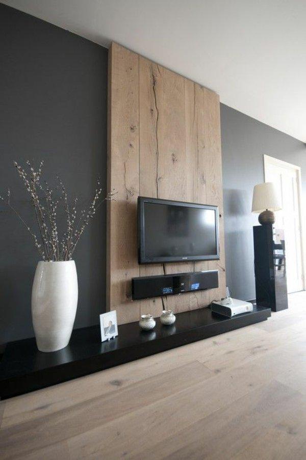 Fernseher Wand Deko Nett On Andere Für Wanddeko Aus Holz Tv Wohnwand Zukünftige Projekte Pinterest 5