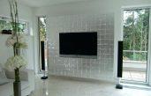 Fernseher Wand Deko