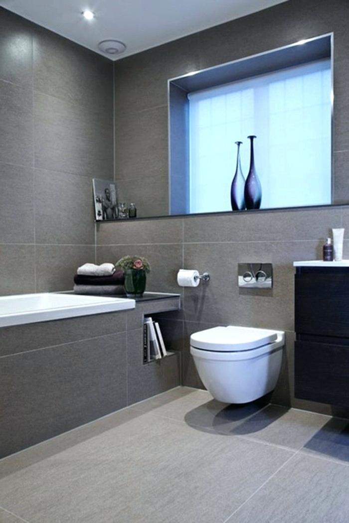 Fliesen Bad Grau Einzigartig On Andere überall Badezimmer Graues Glänzend Innerhalb 5