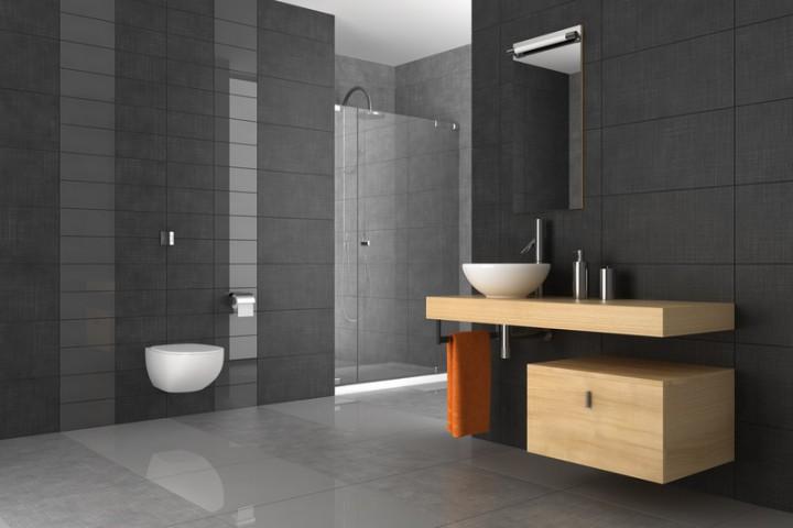 Fliesen Bad Grau Kreativ On Andere Mit Badezimmer In Möglichkeiten Und Preisspannen 2