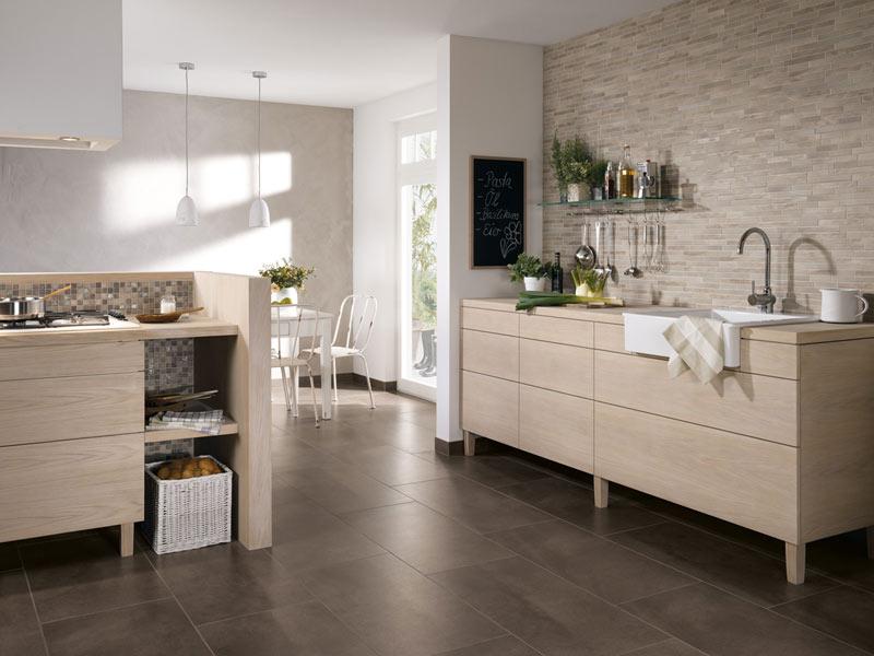 Fliesen Für Wohn Essbereich Glänzend On Andere überall Trend Wohnküche Die Offene Küche 8