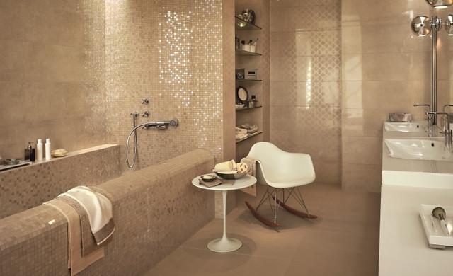 Fliesen Sandfarben Einfach On Andere Auf Badezimmer 15 Kuhles Wc Beige Steinoptik 1