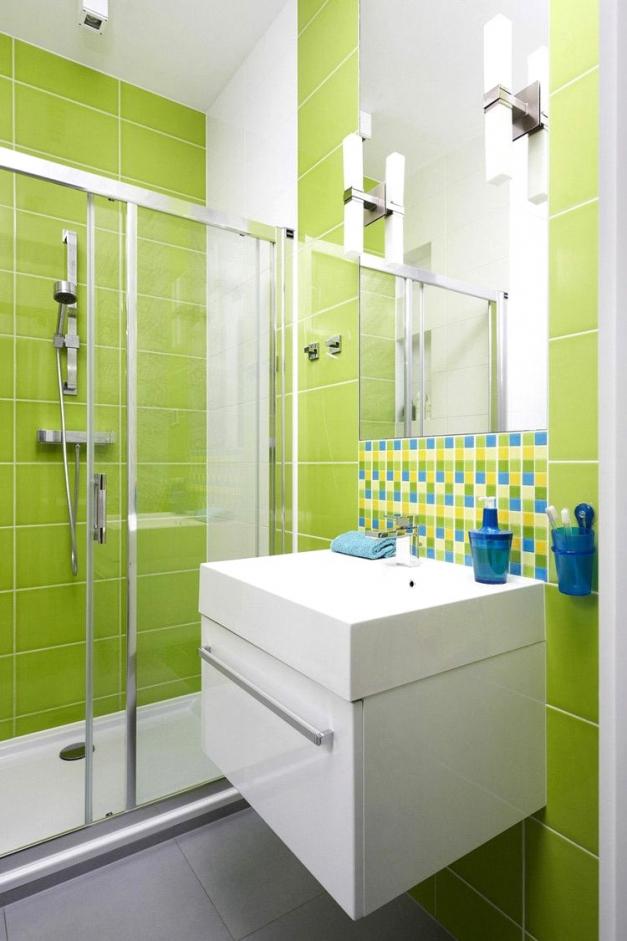 Fliesen Streichen Grün Frisch On Andere Beabsichtigt Innenarchitektur Geräumiges Badezimmer Platten 5