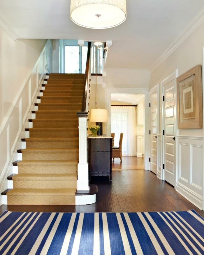 Flur Treppe Fein On Andere Beabsichtigt Für Innen Und Aussen Architektur Teppich F C3 BCr 4