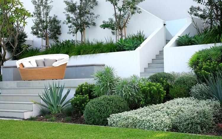 Garageneinfahrt Am Hang Exquisit On Andere Für Zeitgenössisch Design Ideen 2