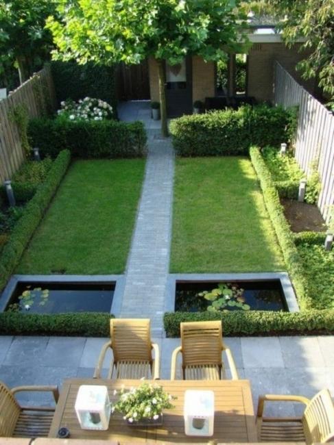 Gartengestaltung Reihenendhaus Bescheiden On Andere überall Super Gestaltung Garten Reihenmittelhaus Malerei Kamin Mit 5