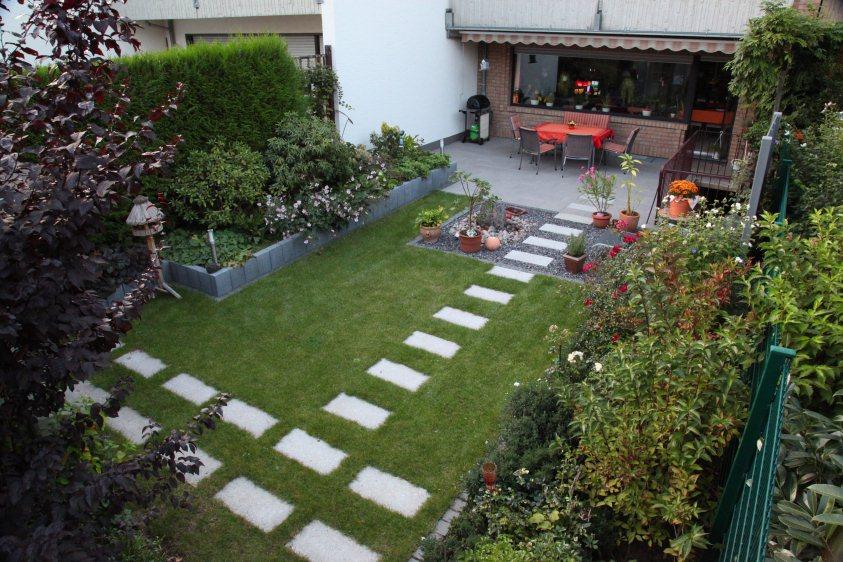 Gartengestaltung Reihenendhaus Imposing On Andere Mit Reihenhaus Garten Nach Der Fertigstellung 2
