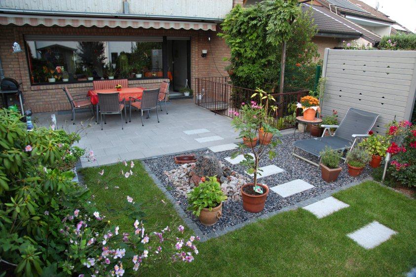 Gartengestaltung Reihenendhaus Imposing On Andere Mit Reihenhaus Garten Nach Der Fertigstellung 6