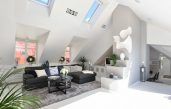Gestaltung Dachwohnung
