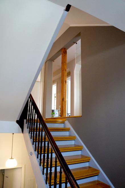 Gestaltung Treppenhaus Altbau Perfekt On Andere Beabsichtigt Beige Warmgrey Staircase Farbgestaltung 9