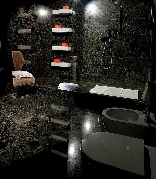 Granit Dusche Luxus Erstaunlich On Andere überall Naturstein Im Bad 8