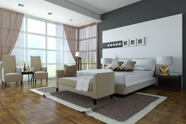 Grauweiß Wandfarbe Herrlich On Andere Und Imitieren Plus Schlafzimmer 1