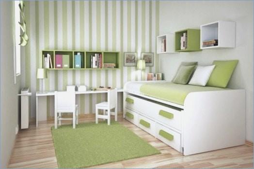 Grün Weiß Streifen Auf Wand Charmant On Andere In Uncategorized Moderne Dekoration Zimmer Streichen Ideen Grun 7