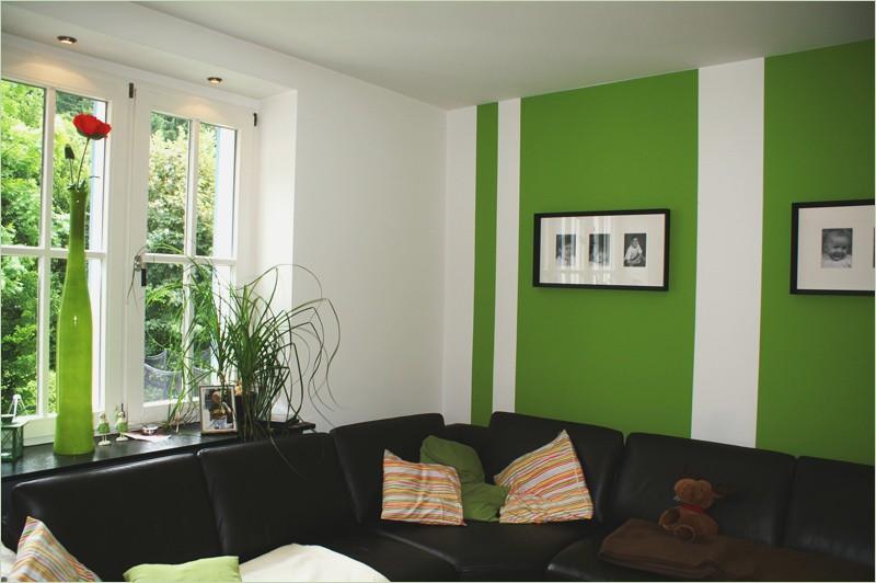 Grün Weiß Streifen Auf Wand Wunderbar On Andere Für Ideen Wandfarbe Interessant Innerhalb Modern 0 4