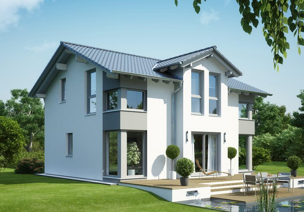 Haus Grau Weiß Einfach On Andere Innerhalb Evolution 125 V4 Bien Zenker Fertighaus HausbauDirekt De 6
