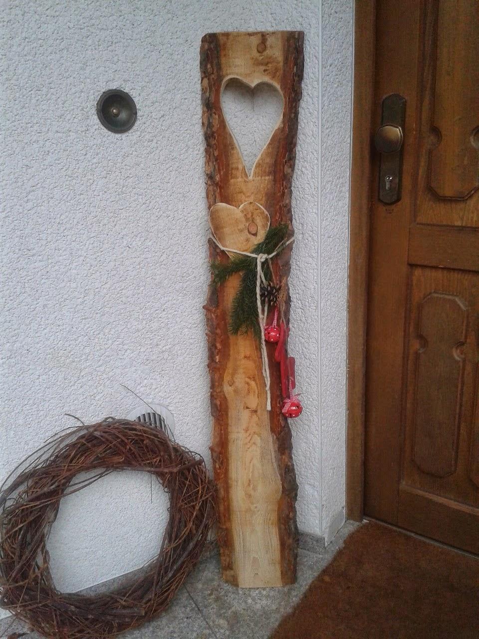Holz Deko Selber Machen Glänzend On Andere überall Verführerisch Holzdeko 7