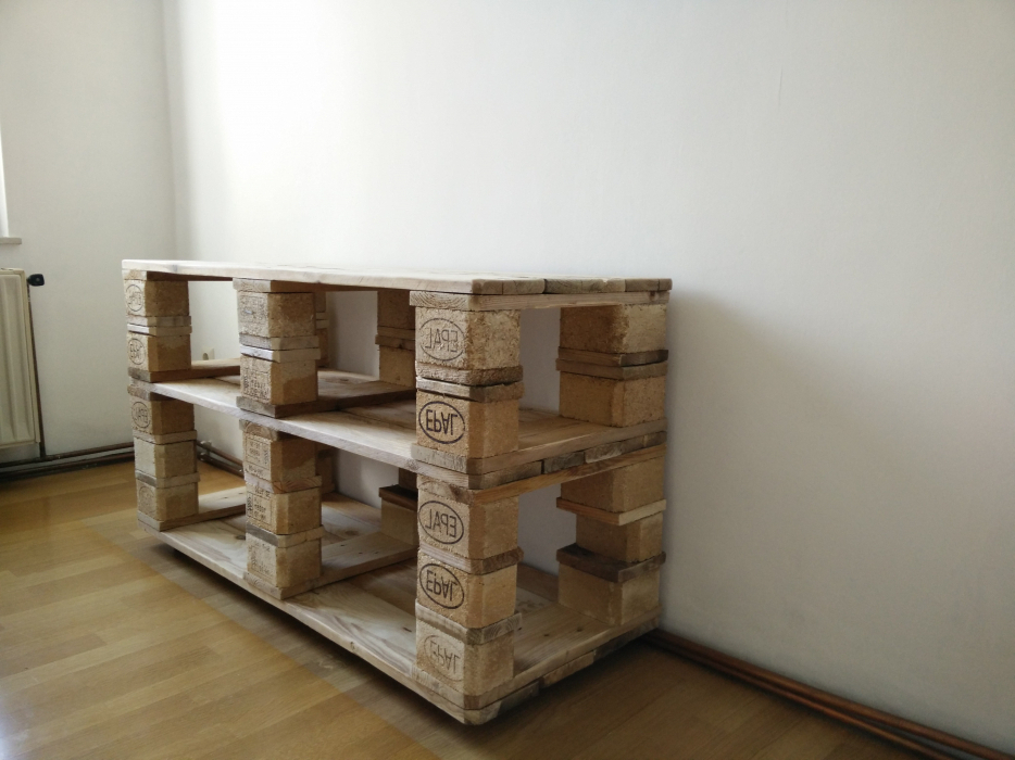 Holzpaletten Regal Beeindruckend On Andere Auf Wohndesign Am Besten Schickes 4