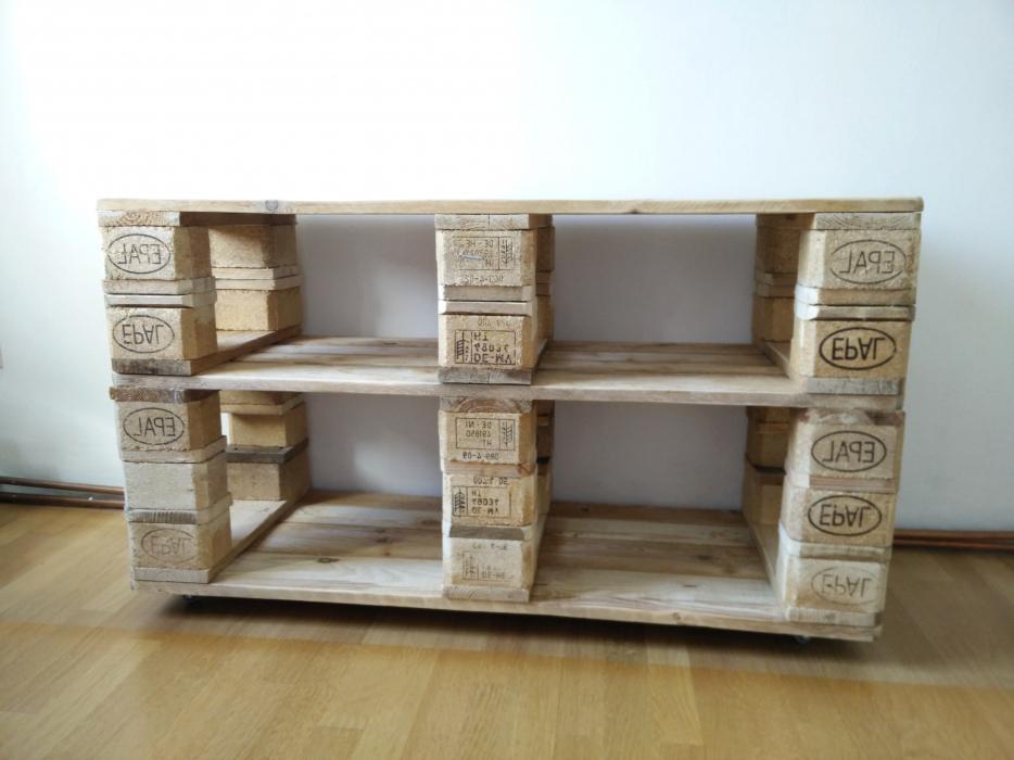 Holzpaletten Regal Einfach On Andere In Wohndesign Am Besten Schickes 2